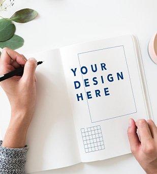 NEUNER-Werbemittel-Serviceleistungen-Layout-Service-Grafik-Design